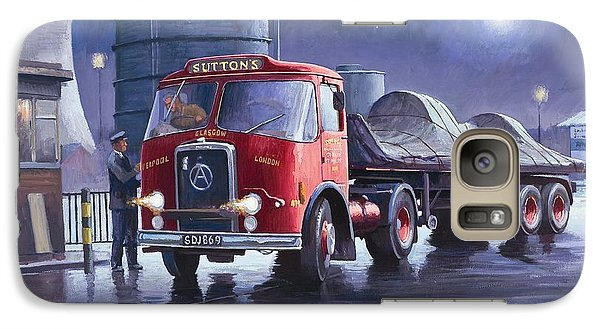 Galaxy Case featuring the painting Suttons Atkinson. by Mike  Jeffries