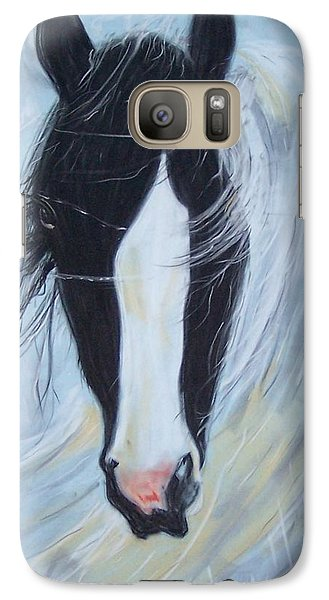 Galaxy Case featuring the pastel Sweep by Peter Suhocke