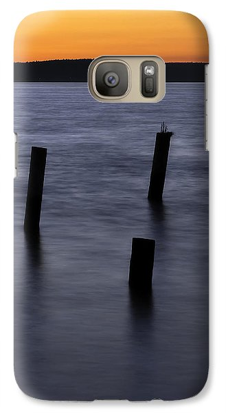Galaxy Case featuring the photograph Tacoma Sunset by Bob Noble Photography