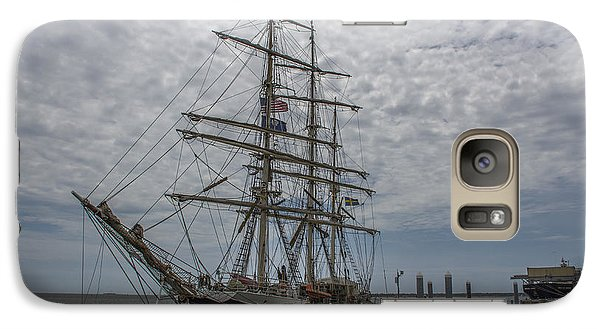Galaxy Case featuring the photograph Tall Ship Gunilla by Dale Powell