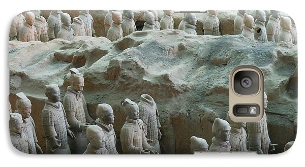 Galaxy Case featuring the photograph Terracotta Army by Kay Gilley