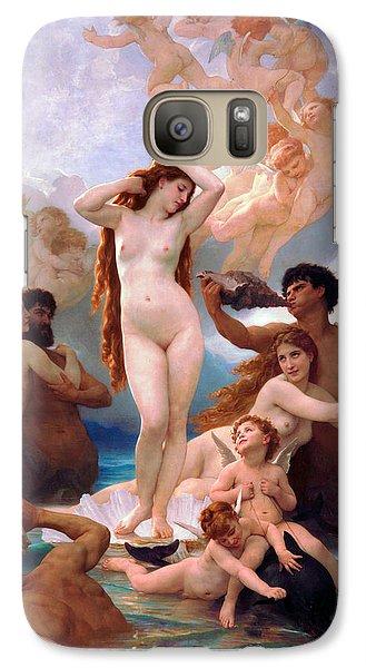 Venus Williams Galaxy S7 Case - The Birth Of Venus by William-Adolphe Bouguereau