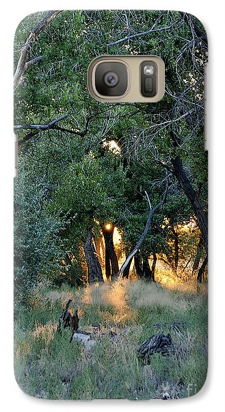 Galaxy Case featuring the photograph The Bosque by Gina Savage