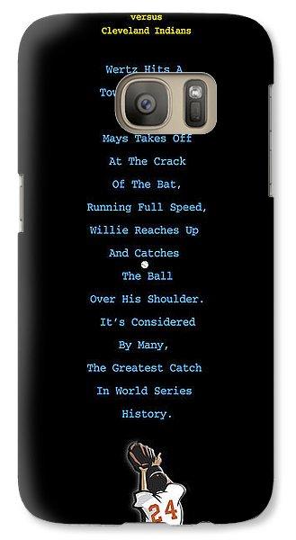The Catch Galaxy S7 Case