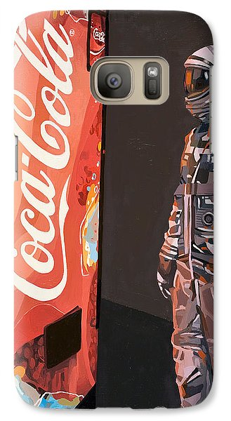 The Coke Machine Galaxy Case by Scott Listfield