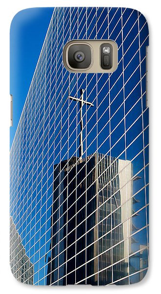 Galaxy Case featuring the photograph The Crystal Cathedral by Duncan Selby