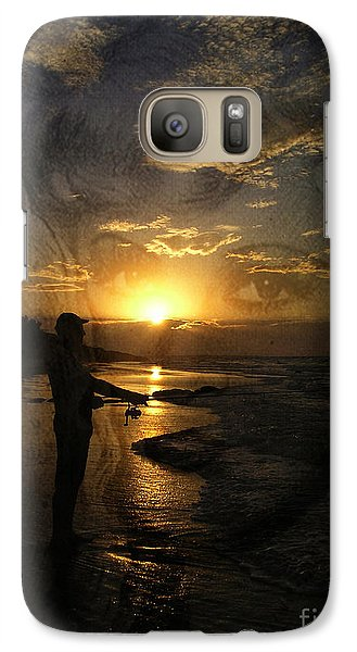 Galaxy Case featuring the photograph The Fishing Lure by Megan Dirsa-DuBois