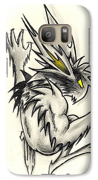 Galaxy Case featuring the drawing The Gargunny by Shawn Dall