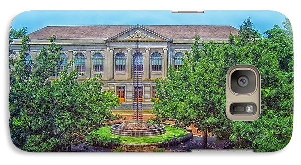 The Old Main - University Of Arkansas Galaxy Case by Mountain Dreams