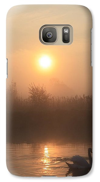 Galaxy Case featuring the photograph The Peace Of Dawn by Linsey Williams