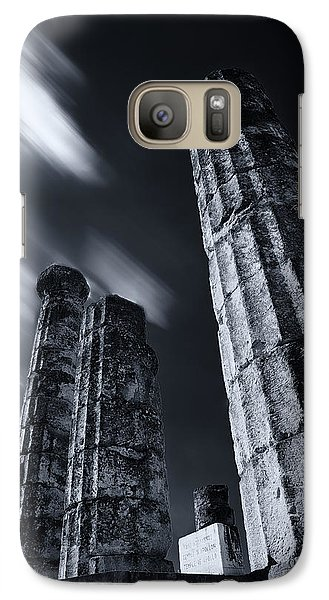 Galaxy Case featuring the photograph The Pillars Of Apollo's Temple by Micah Goff