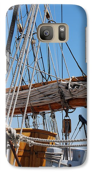 Galaxy Case featuring the photograph The Sail by Ramona Whiteaker