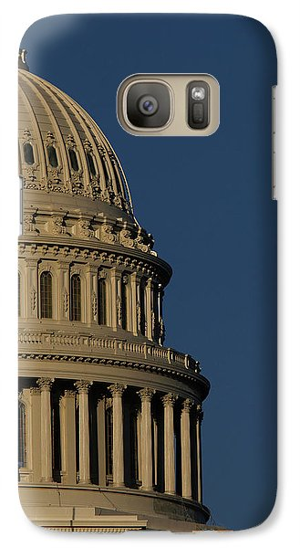 Capitol Building Galaxy S7 Case - The West Side Of The United States by Dennis Brack
