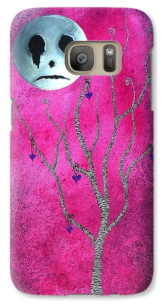 Galaxy Case featuring the painting The Zebra Effect 3 by Oddball Art Co by Lizzy Love