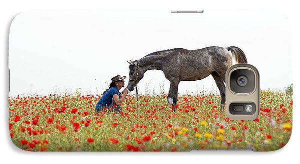 Three At The Poppies' Field... 4 Galaxy S7 Case