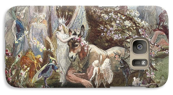 Titania And Bottom Galaxy S7 Case by John Anster Fitzgerald
