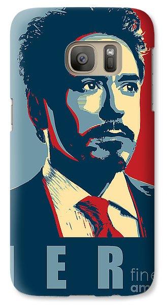 Ant Galaxy S7 Case - Tony Stark by Fine Artist