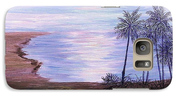 Galaxy Case featuring the painting Tropical Paradise by Artists With Autism Inc