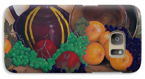 Galaxy Case featuring the painting Tuscany Treats by Sharon Duguay