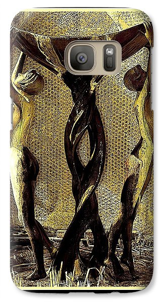 Galaxy Case featuring the photograph Twisted by Steve Godleski