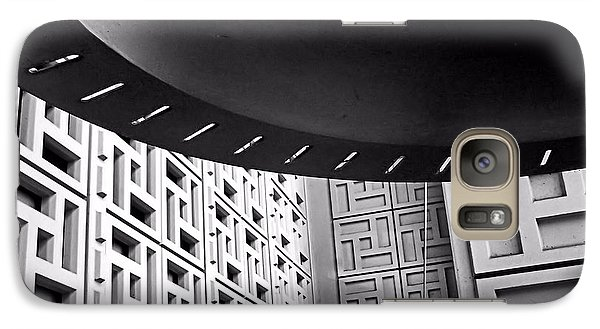 Galaxy Case featuring the photograph Ufos In A Maze by Bob Wall