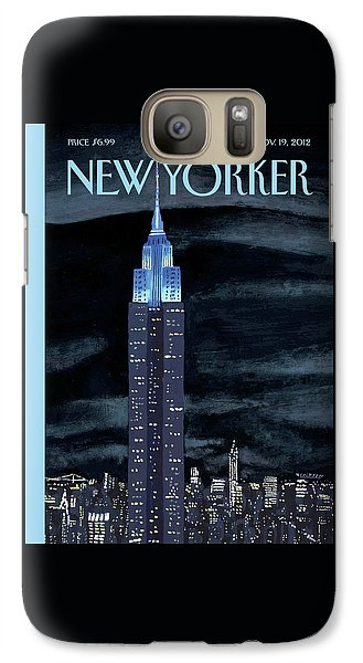Empire State Building Galaxy S7 Case - New Yorker November 19th, 2012 by Mark Ulriksen