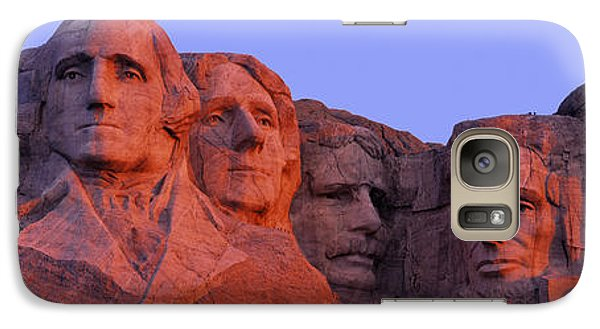 Usa, South Dakota, Mount Rushmore Galaxy S7 Case by Panoramic Images