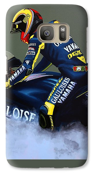Goat Galaxy S7 Case - Valentino Rossi by Paul Meijering