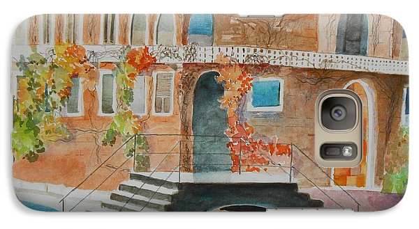 Galaxy Case featuring the painting Venice by Geeta Biswas