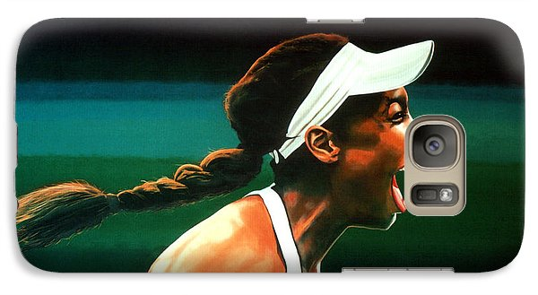 Athletes Galaxy S7 Case - Venus Williams by Paul Meijering