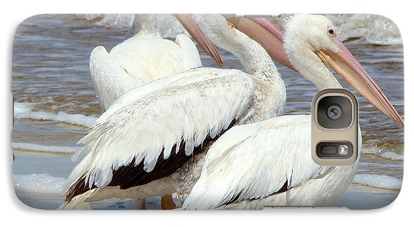 Galaxy Case featuring the photograph Watching by Phyllis Beiser