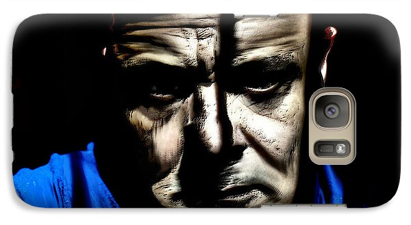 Galaxy Case featuring the mixed media Welcome Mr Sandusky by Terence Morrissey
