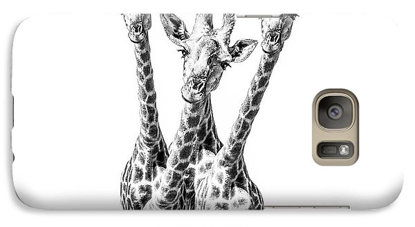 What Are You Looking At?  Galaxy S7 Case by Diane Diederich