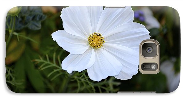 Galaxy Case featuring the photograph White Flower by Alex King