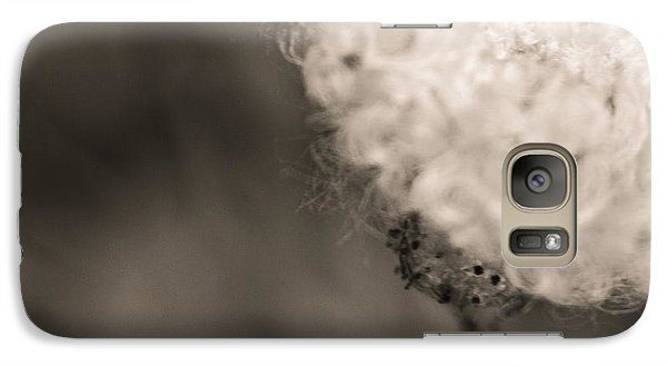 Galaxy Case featuring the photograph White Whisper by Sara Frank