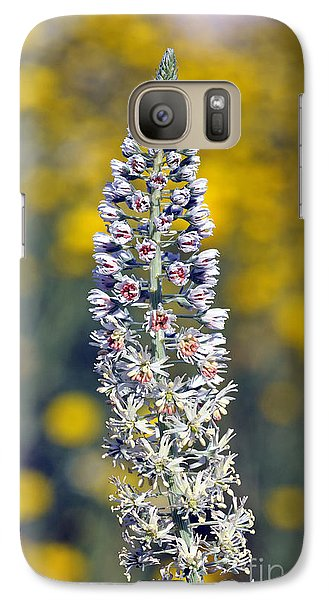 Galaxy Case featuring the photograph Wild Mignonette Flower by George Atsametakis