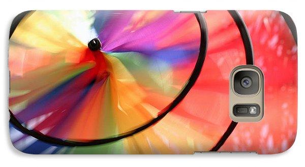 Galaxy Case featuring the photograph Wind Wheel by Henrik Lehnerer