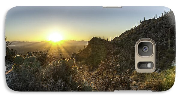 Winter Sunset Galaxy S7 Case by Lynn Geoffroy