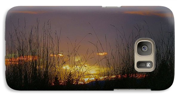 Galaxy Case featuring the photograph Winter Sunset by Michael Dohnalek