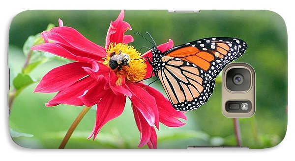 Galaxy Case featuring the photograph Working Together by Karen Silvestri