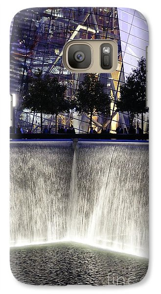 Galaxy Case featuring the photograph World Trade Center Museum by Lilliana Mendez