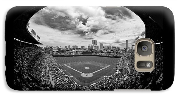 Wrigley Field  Galaxy S7 Case by Greg Wyatt
