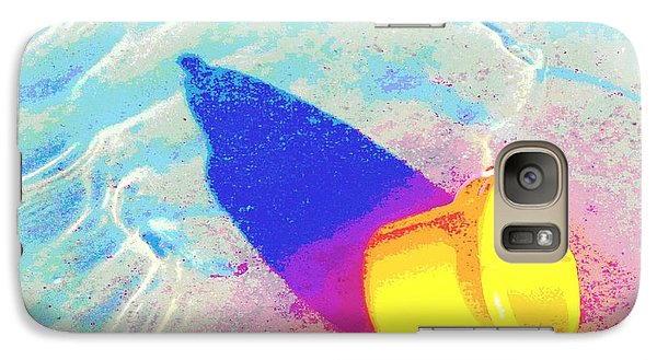 Galaxy Case featuring the digital art Yellow Pail by Valerie Reeves