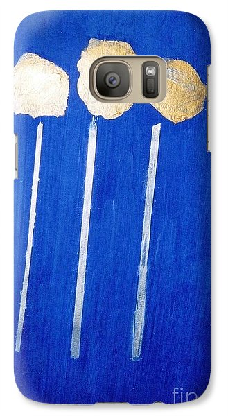 Galaxy Case featuring the painting Yellow Roses by Fereshteh Stoecklein