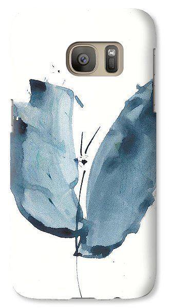 Galaxy Case featuring the painting Zen Butterfly Watercolor by Frank Bright