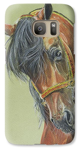 Galaxy Case featuring the painting Zimark by Janina  Suuronen