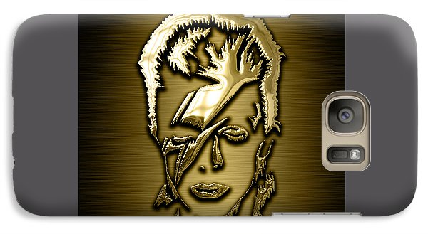 David Bowie Collection Galaxy Case by Marvin Blaine