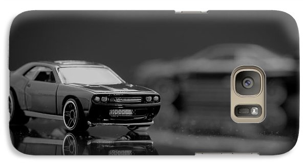 Galaxy Case featuring the photograph 2008 Dodge Challenger Srt8 by Wade Brooks