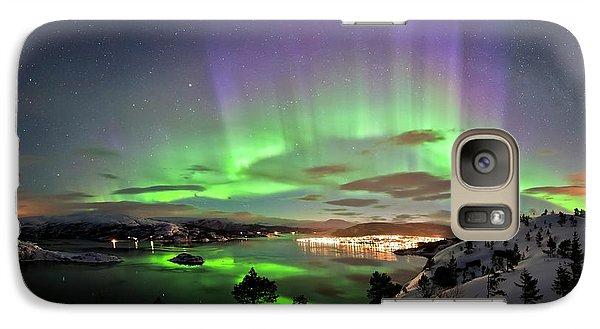 Aurora Borealis Galaxy Case by Tommy Eliassen