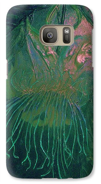 Galaxy Case featuring the painting Cosmic Light Series by Len Sodenkamp